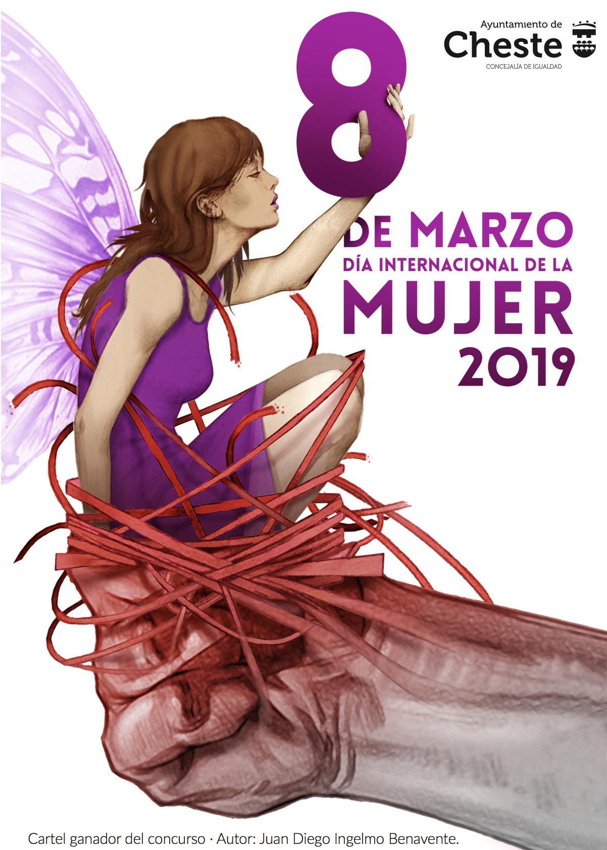 Ya está listo el programa de actos con motivo del Día Internacional de la Mujer en Cheste.