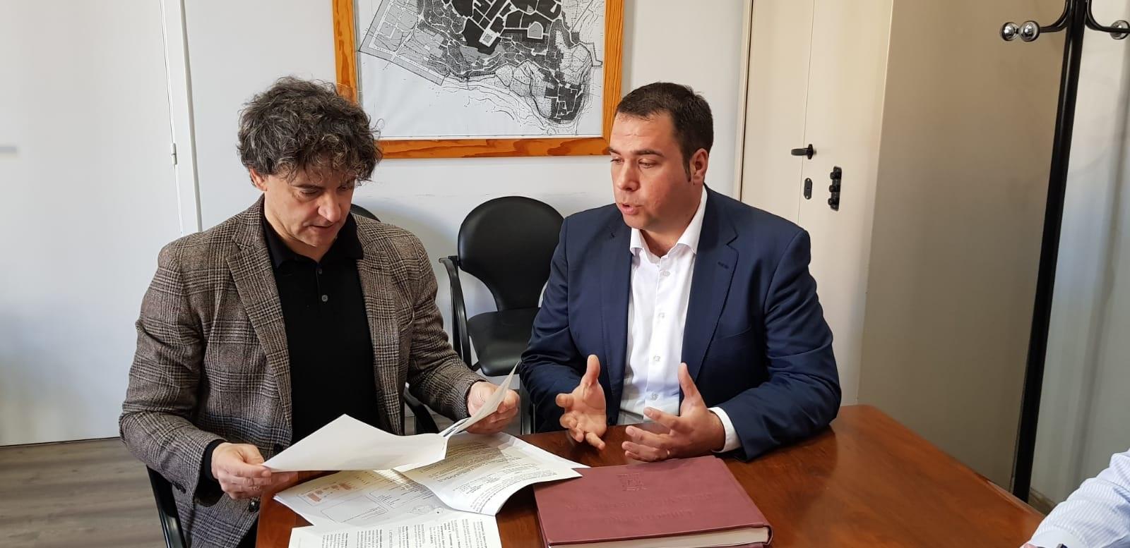 El responsable de Turisme también ha visitado el municipio de Chelva.
