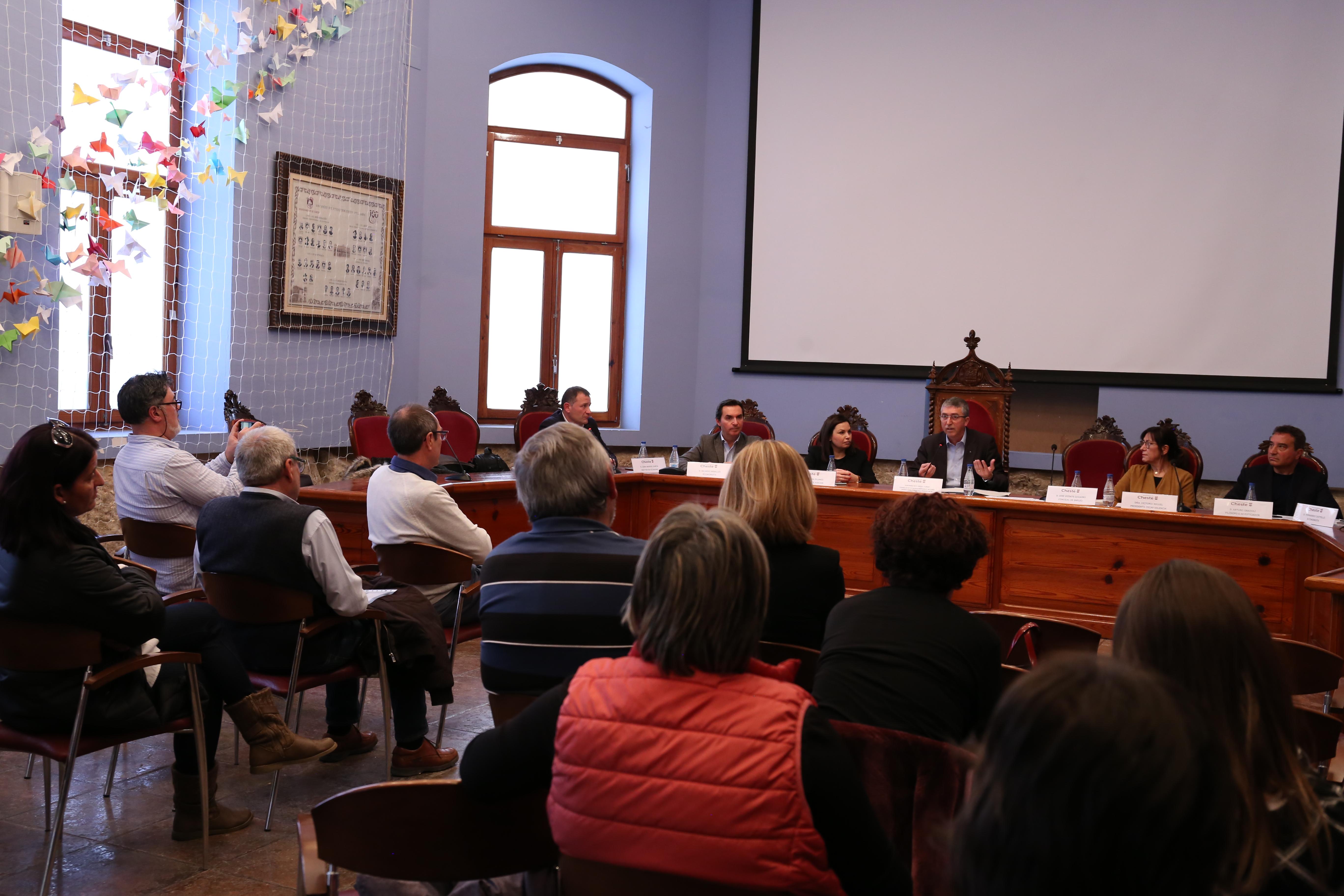 El Consejero de Economía Sostenible, Sectores Productivos, Comercio y Trabajo, Rafael Climent, clausuró la jornada.