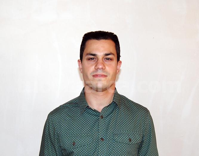 El coordinador local de EU en Buñol, Joaquín Masmano Ruiz.