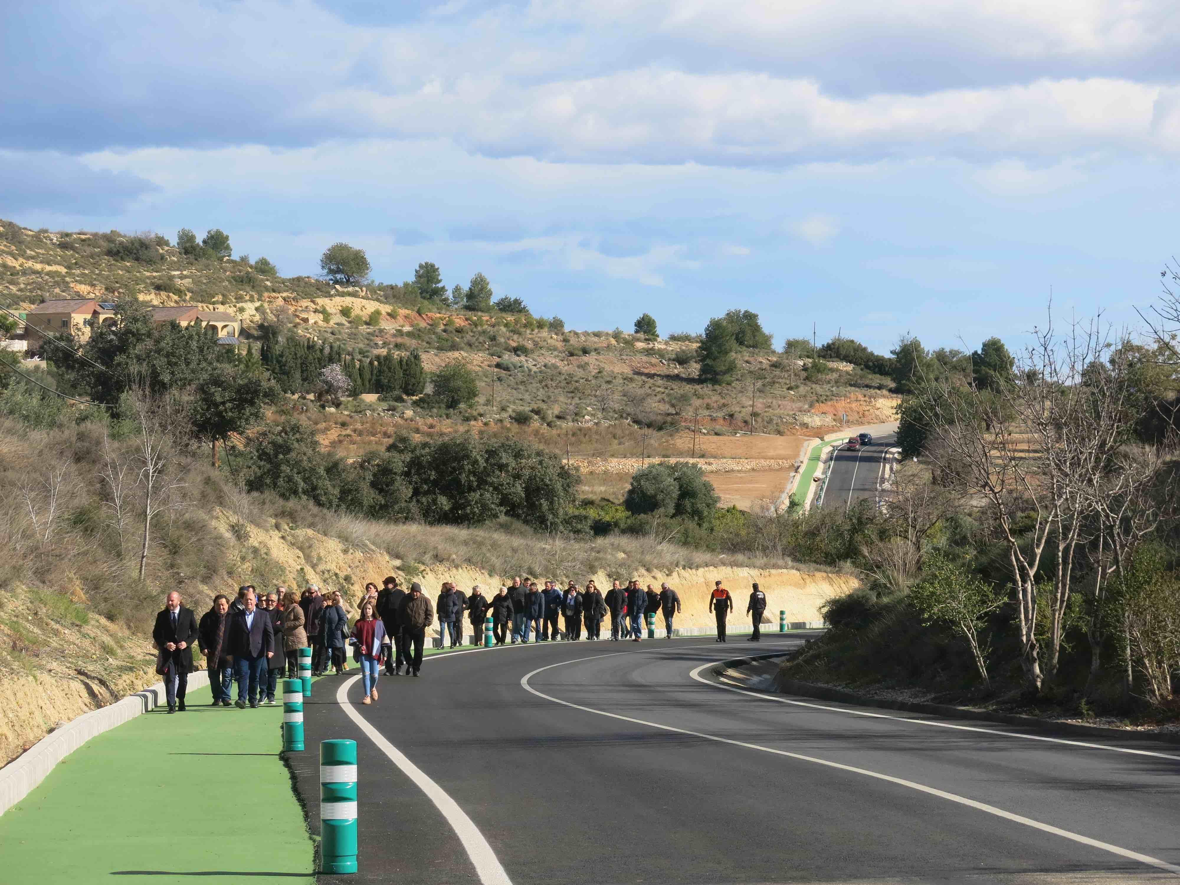 El Ayuntamiento se ha hecho cargo de la vía de peatones.