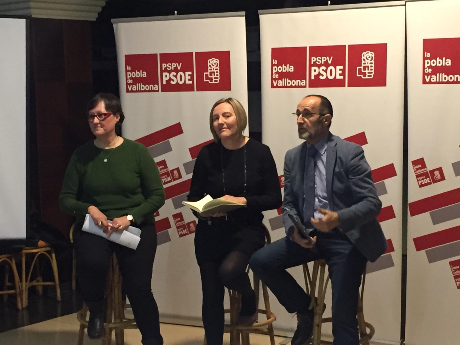 """La consellera de Vivienda señala que """"la reducción del paro en La Pobla de Vallbona confirma que la estabilidad y la confianza generada por el Consell de Ximo Puig trae buenos resultados en la Comunitat""""."""
