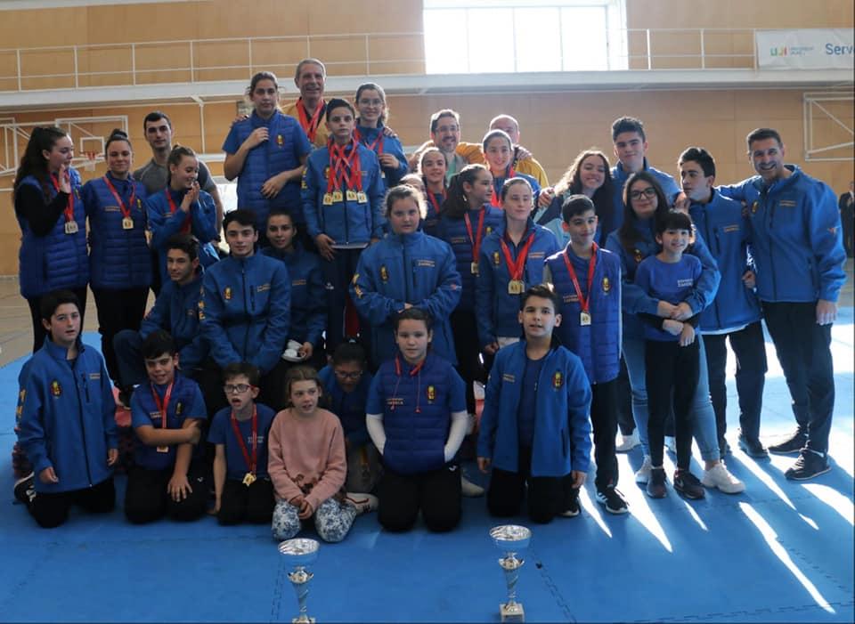 Campeonato Autonómico de taekwondo celebrado en la Universitat Jaume I de Castelló.