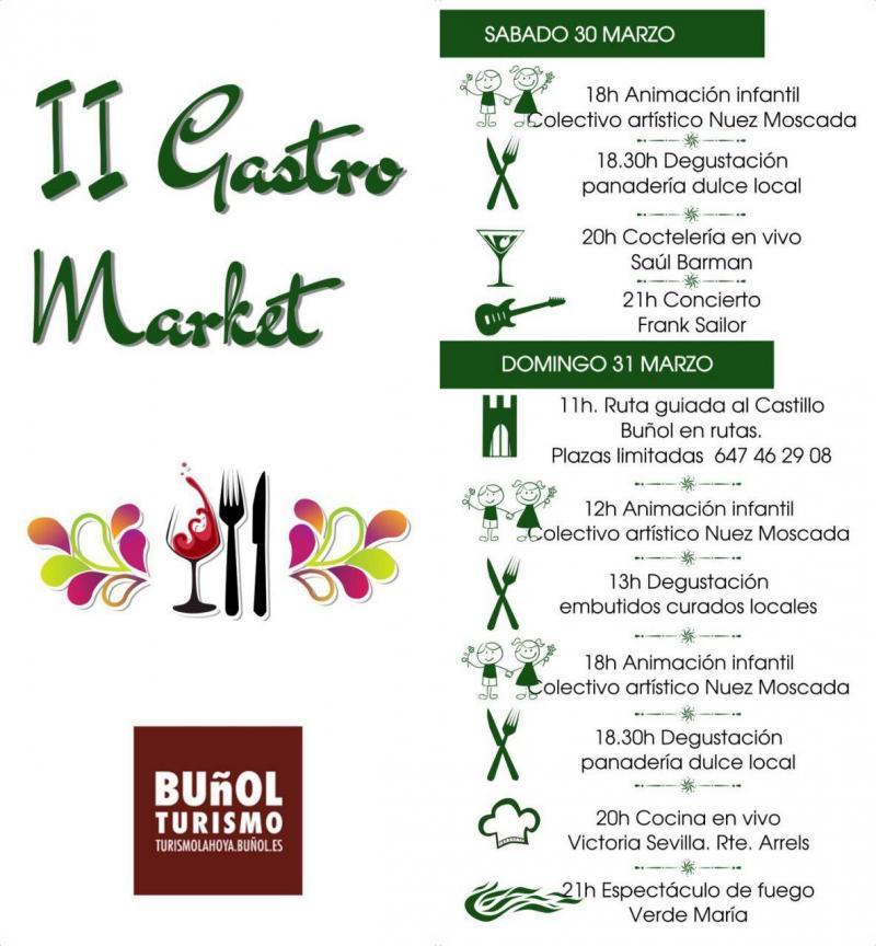 Segunda edición del Gastro Market de Buñol.
