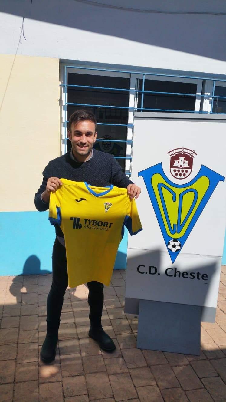 El jugador Juanvi Fuertes.