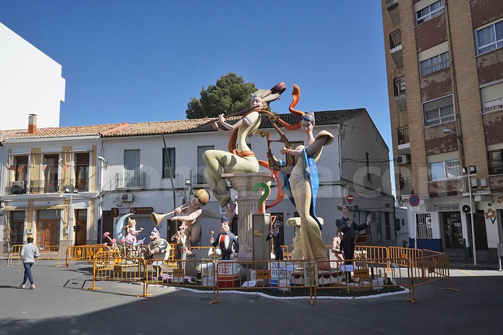 Monumento de la Falla Ventas de 2019.