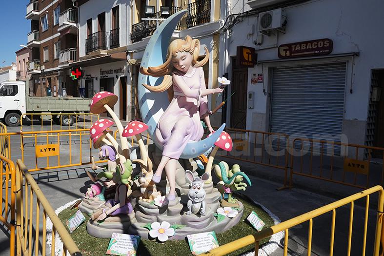 Monumento infantil de la Falla Ventas 2019.