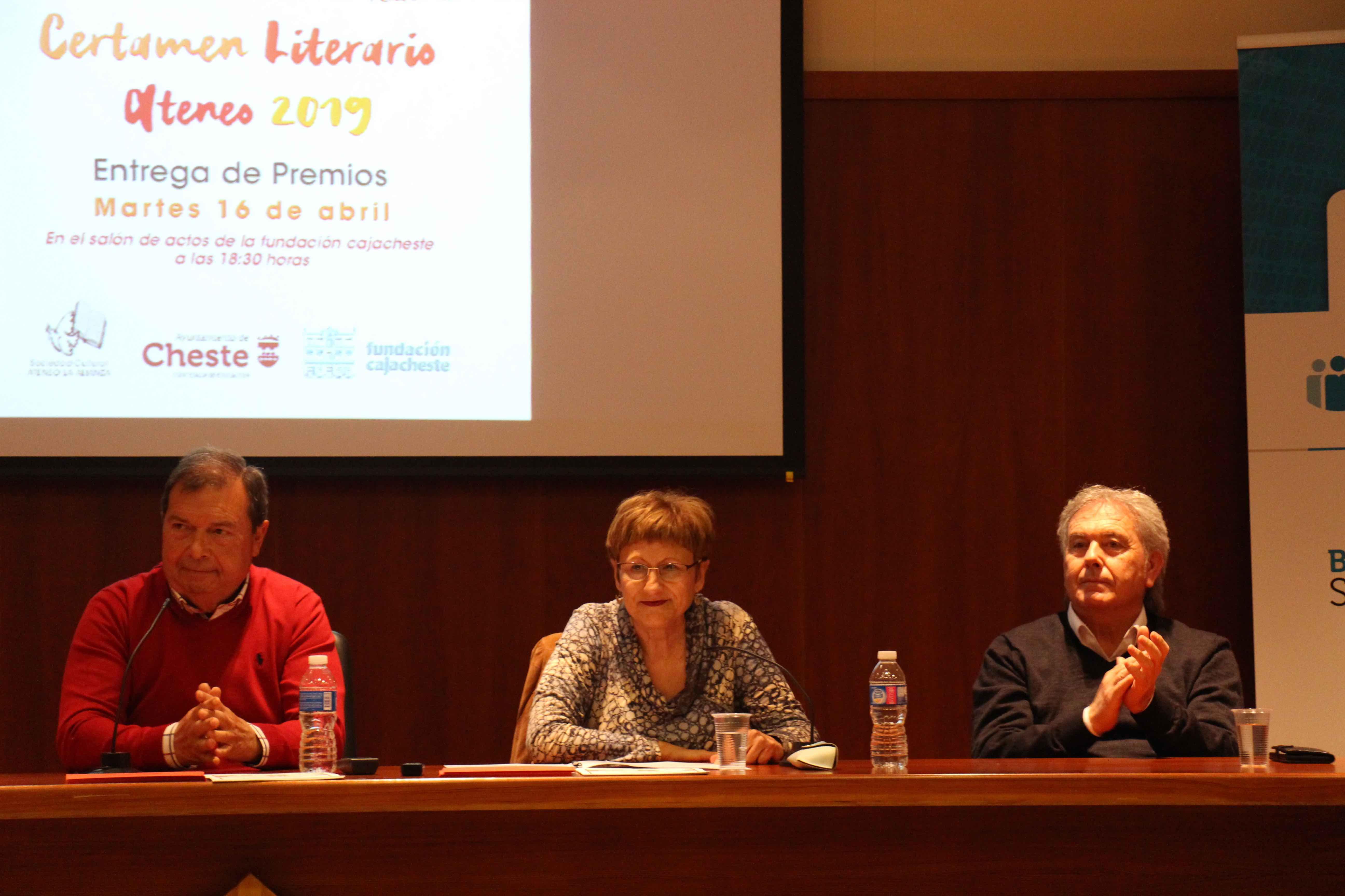 El presidente de la asociación Ateneo Cultural la Alianza, Rafael Navarro, quiso recalcar la antigüedad del certamen y su número de ediciones.