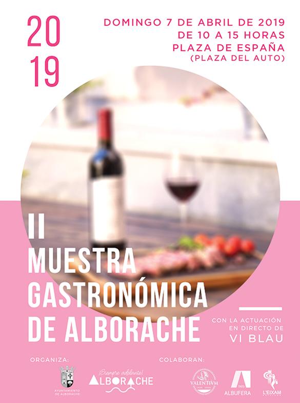 La II Muestra Gastronómica de Alborache se celebra este domingo 7 de abril, en la Plaza de España de la localidad de La Hoya.