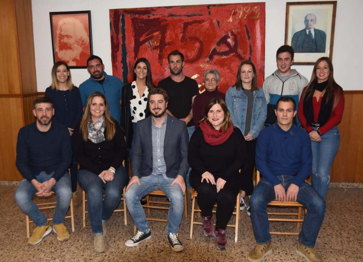 Candidatura de EU a las elecciones municipales en Buñol.