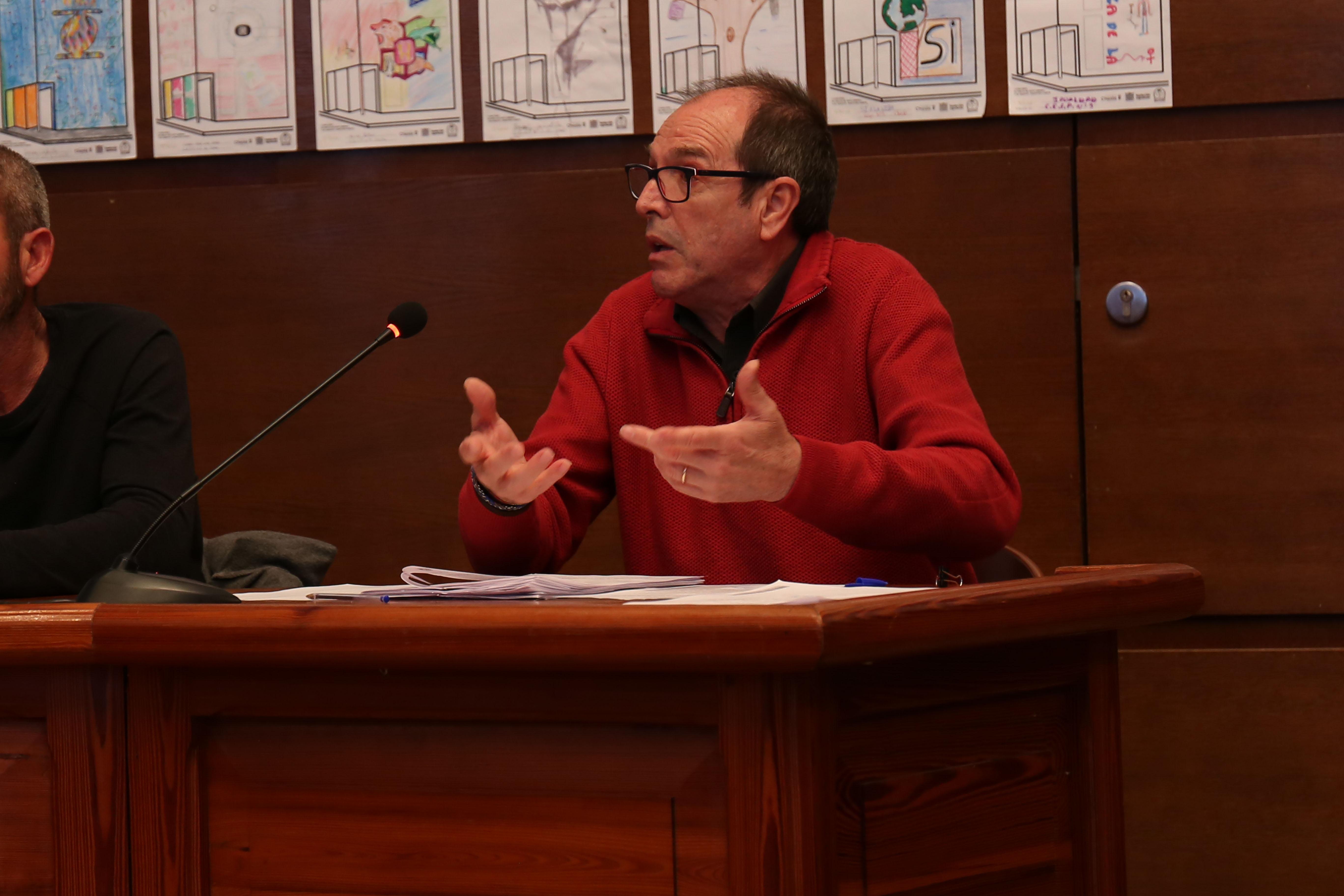 El concejal José Vicente Guijarro, responsable de Empleo.