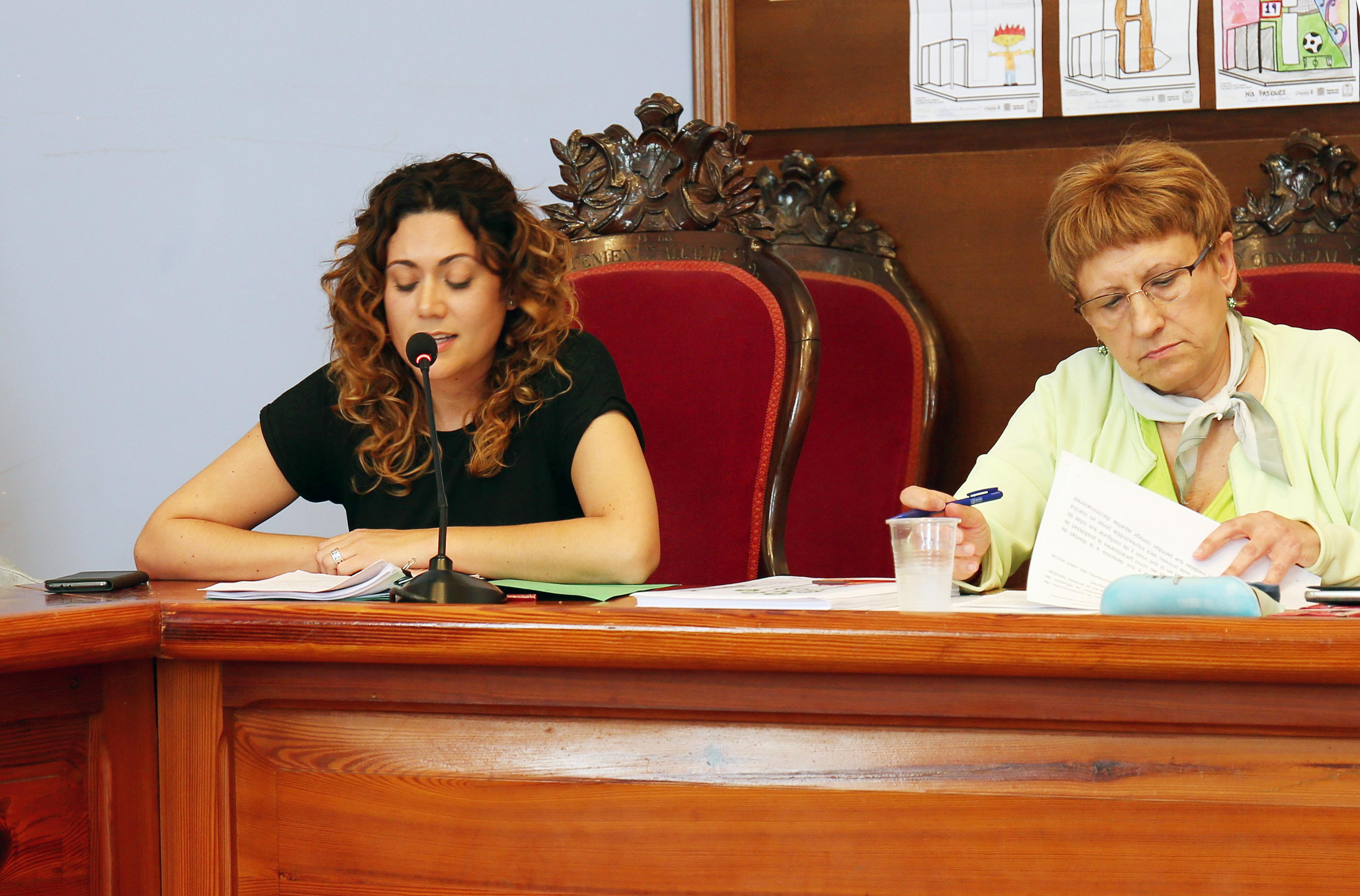 Presentación del Plan de Igualdad por parte de Ainoha Albiach.