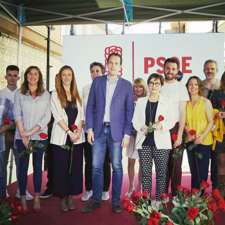 La candidatura vuelve a estar liderada por el actual alcalde de la localidad, José Morell.