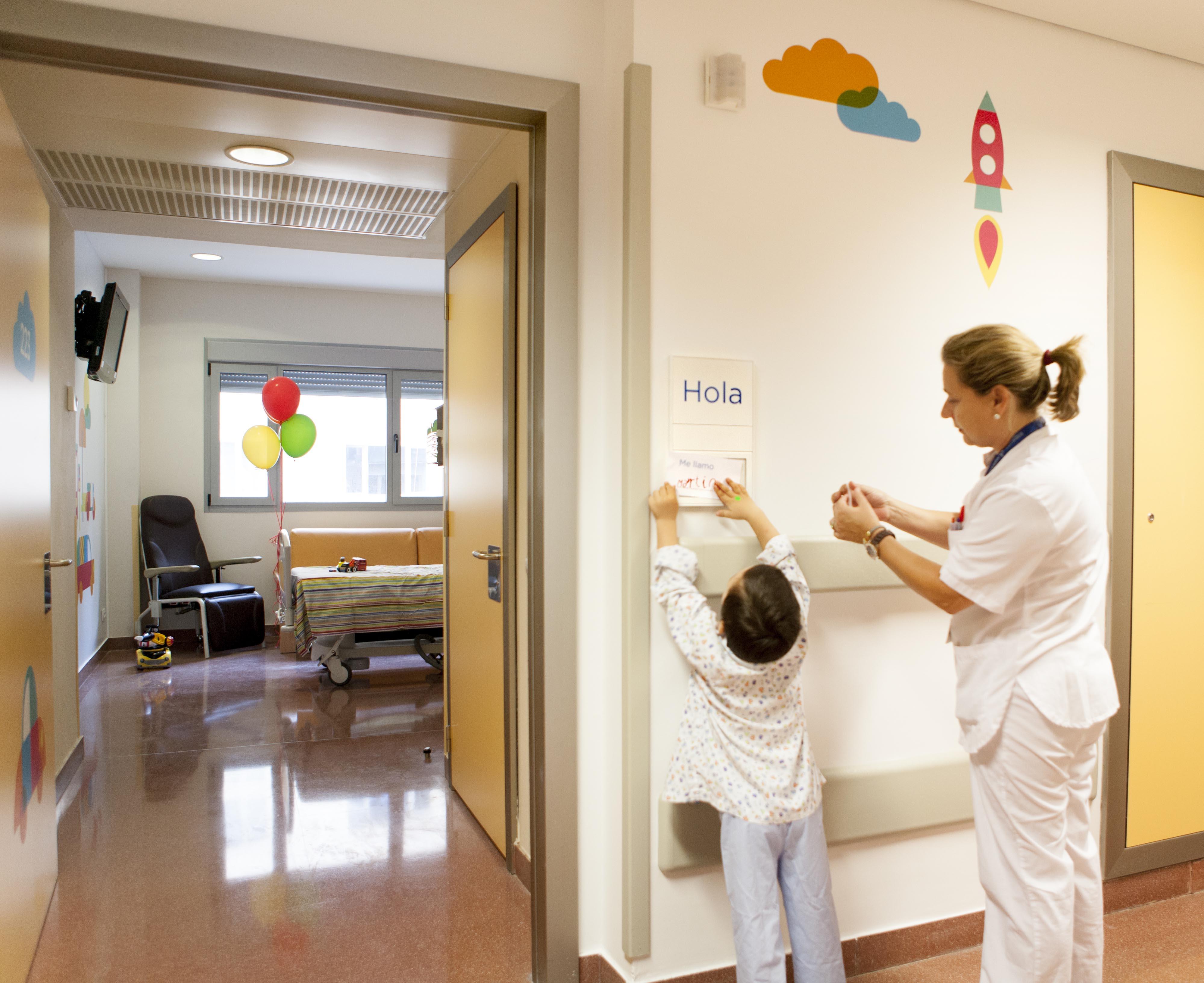 El Hospital de Manises formará a residentes de Enfermería en la especialización de Pediatría.