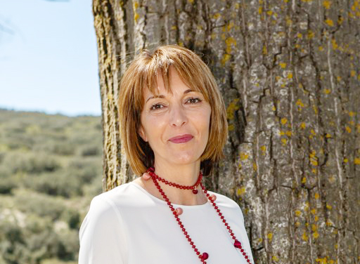 La alcaldesa de Siete Aguas, Teresa Hernández.
