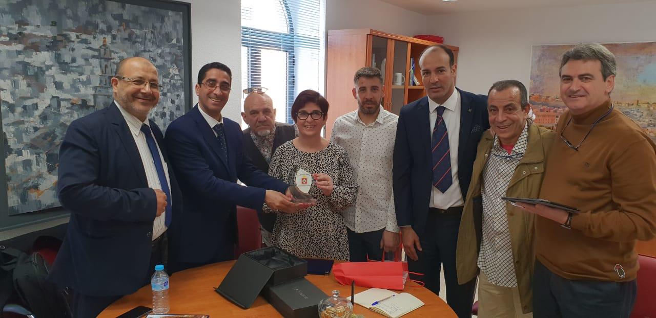 Representantes políticos de la ciudad marroquí de Casablanca visitan Buñol.