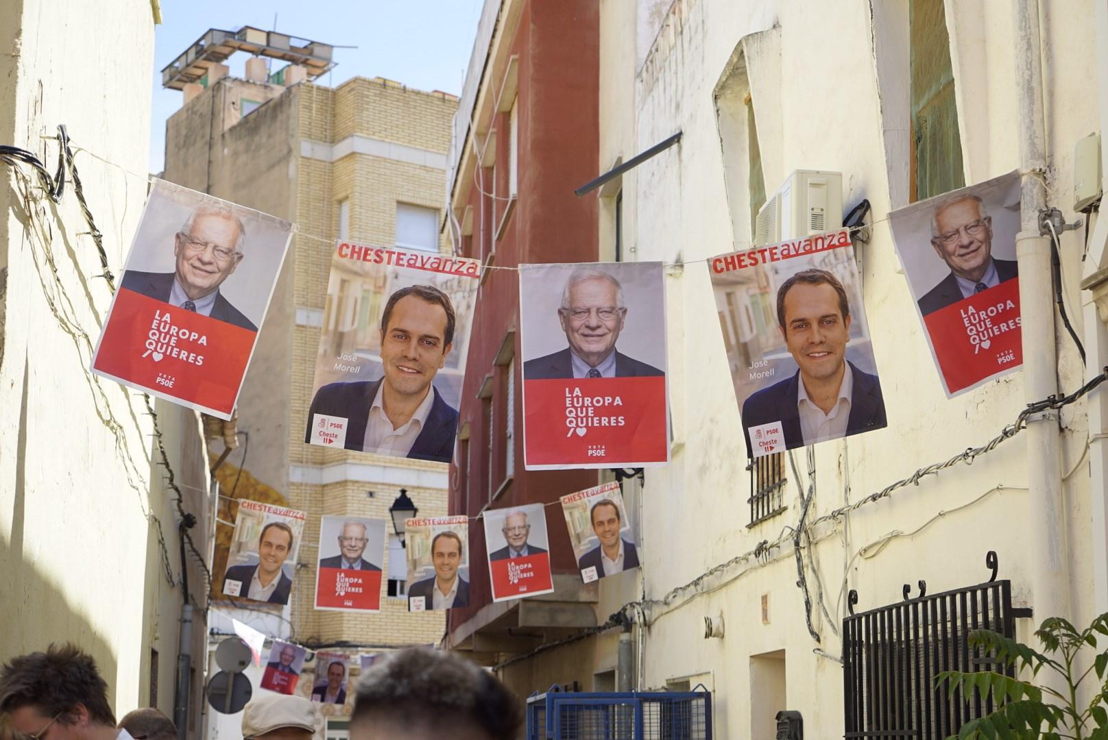 El PSOE ha sido la opción más votada en las elecciones europeas en Cheste.
