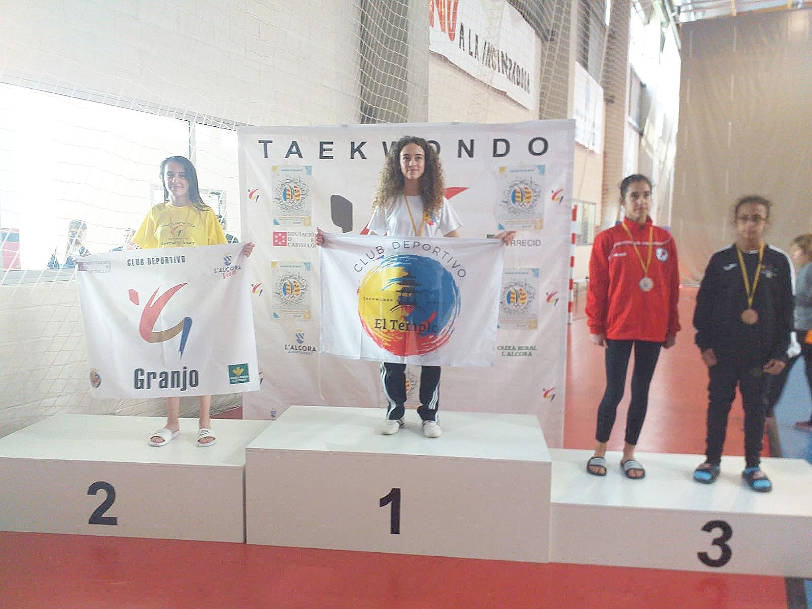 La taekwondista buñolense Daniela Furriol ha conseguido el oro en la modalidad de combate en el Campeonato Autonómico de la Comunidad Valenciana.