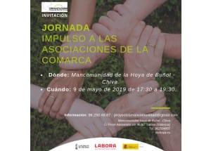 Jornada dirigida a las asociaciones de la comarca como actores fundamentales en el desarrollo local.