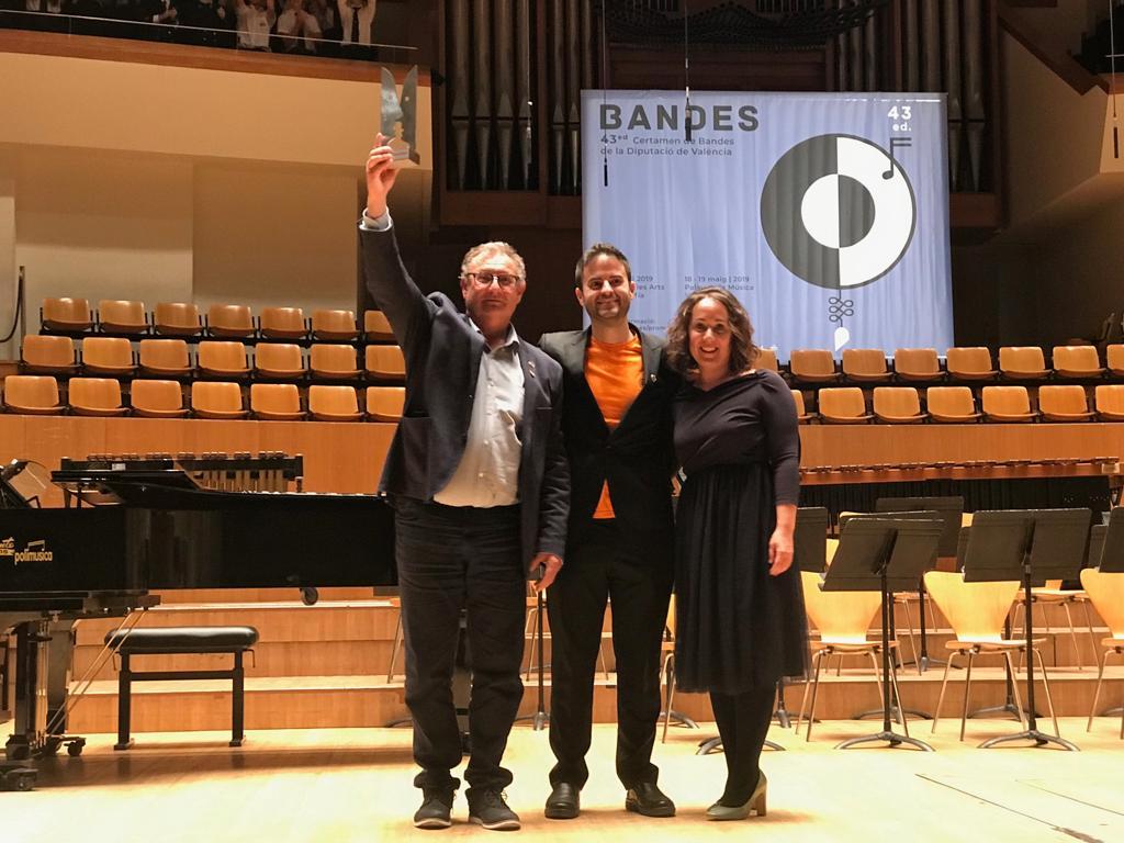 La Banda Joven de la Unión Musical Municipal de Godelleta ha ganado el primer premio, con mención de honor, de la Sección Tercera del Certamen de Bandas de la Diputació de València.
