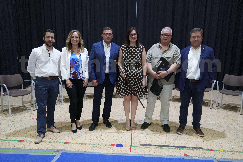 Equipo de gobierno de Godelleta formado por PP, C's y PUG que encabeza Silvia López (PP).