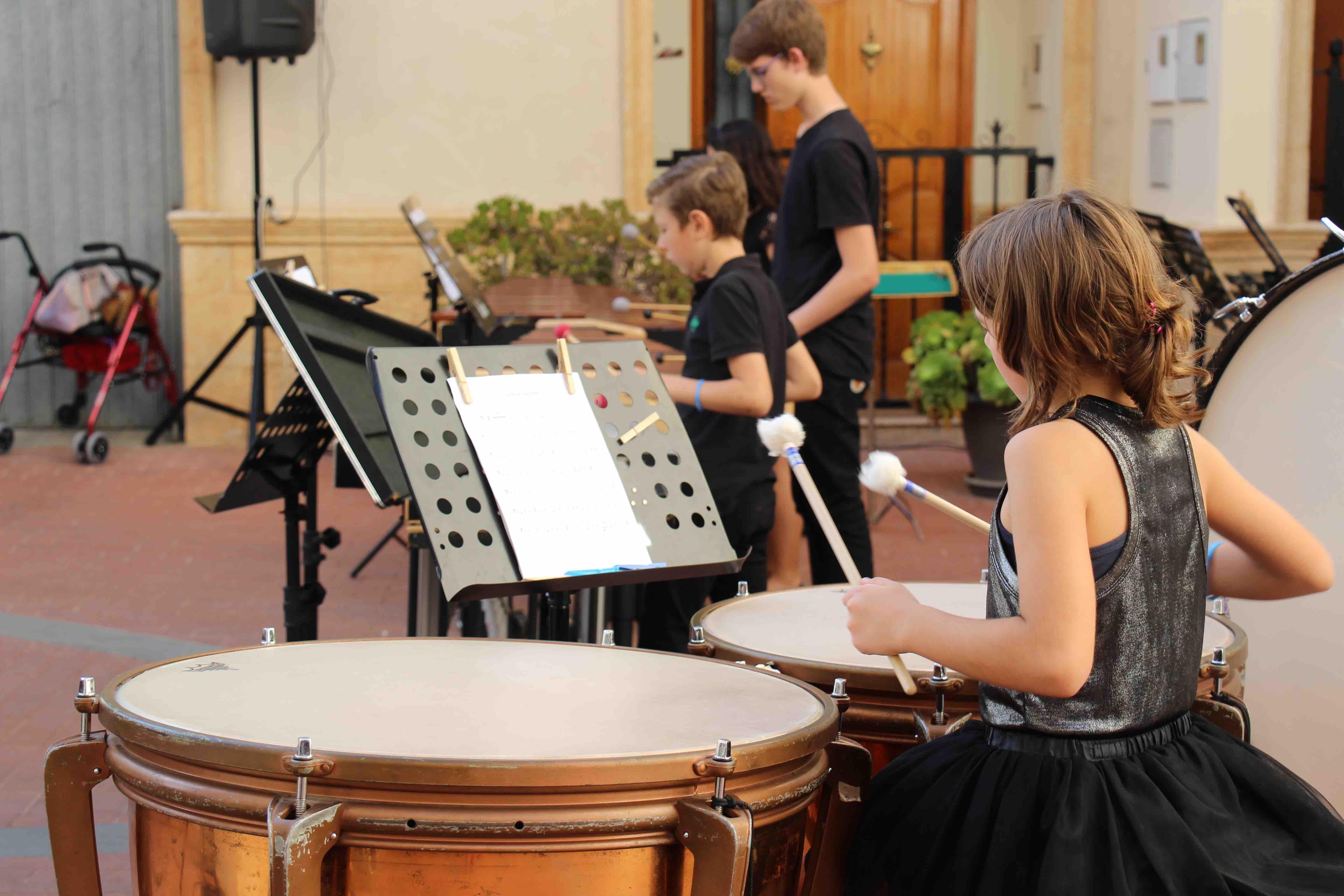 Concierto ofrecido por el Ensemble de Percusión.