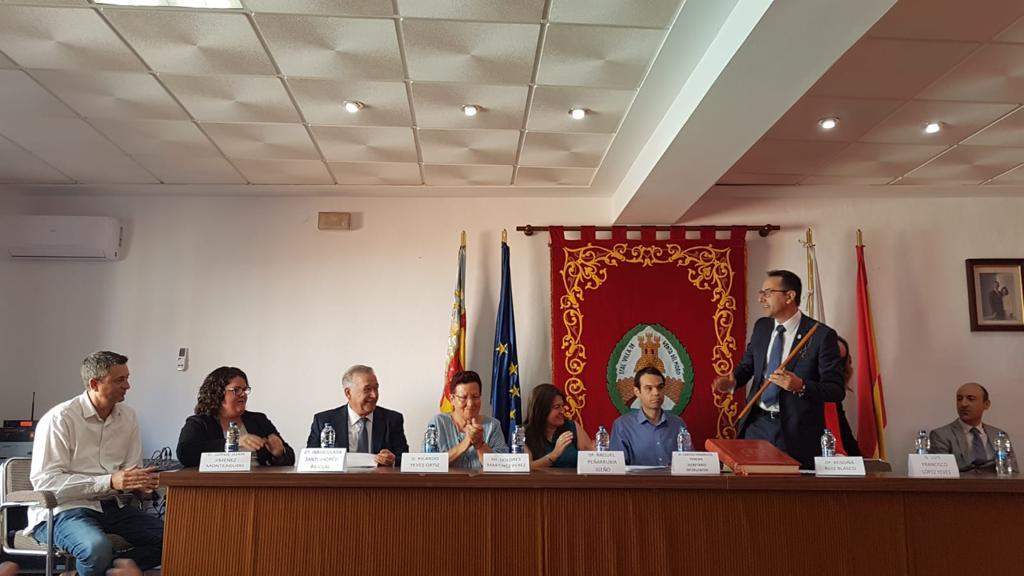 Luis Francisco Yeves ha revalidado su cargo como alcalde de Venta del Moro.