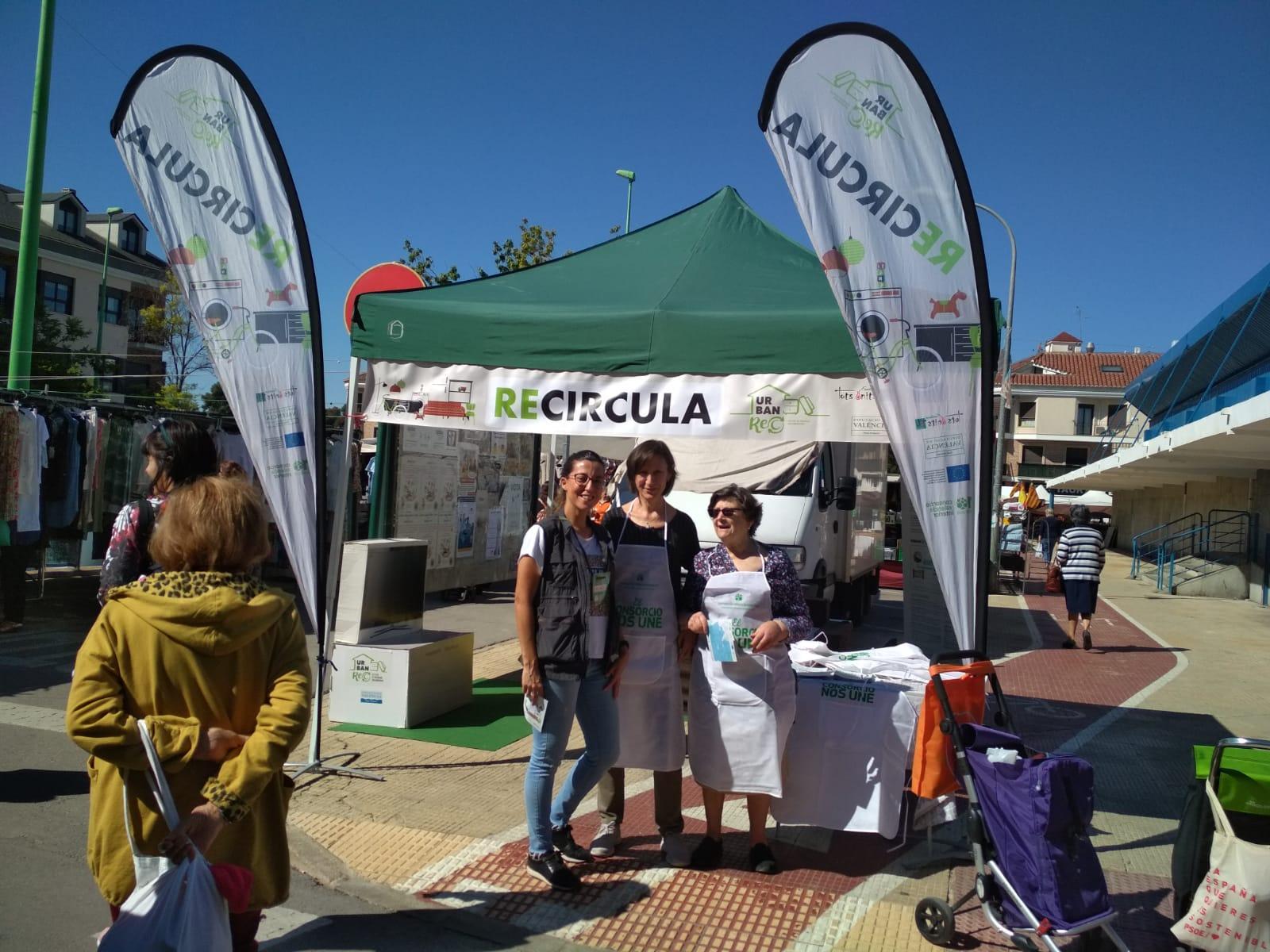 El Consorcio Valencia Interior amplía su proyecto RECIRCULA a un tercer ecoparque para dar cobertura a toda la comarca.