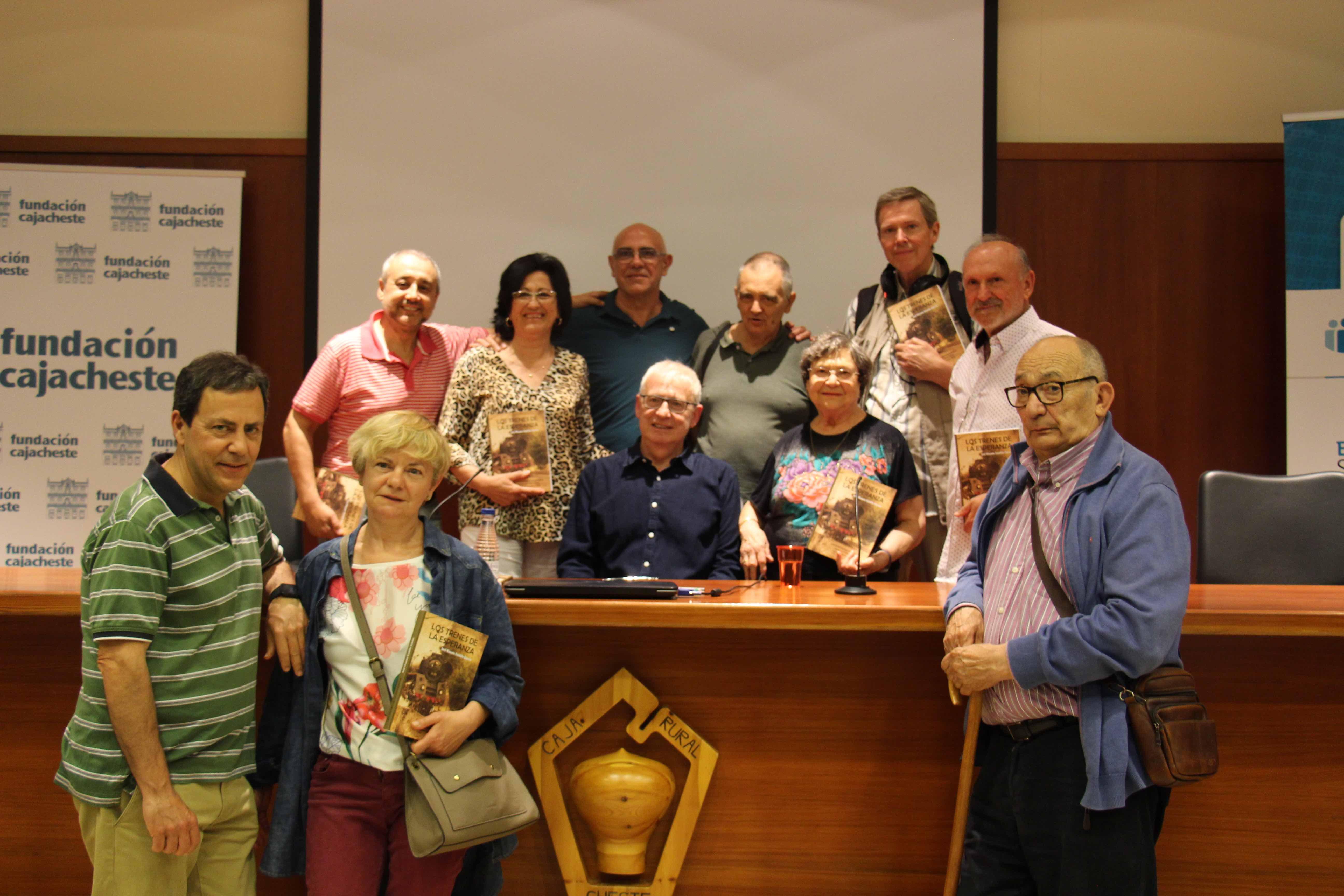 Presentación el libro Los trenes de la esperanza, esperantistas solidarios sobre los niños y niñas austriacos acogidos en Cheste en 1920.