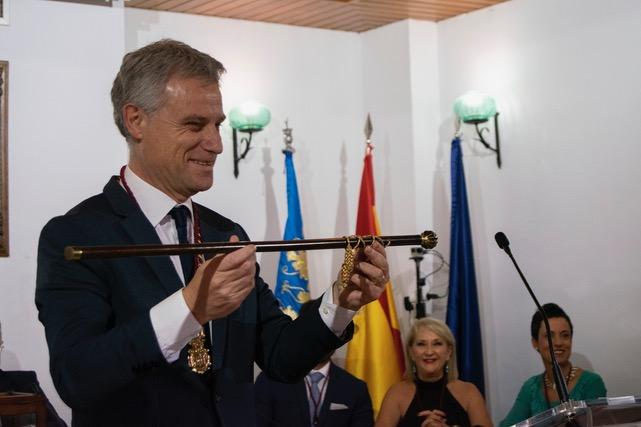 Salva Torrent (PSPV-PSOE) es el alcalde de l'Eliana.