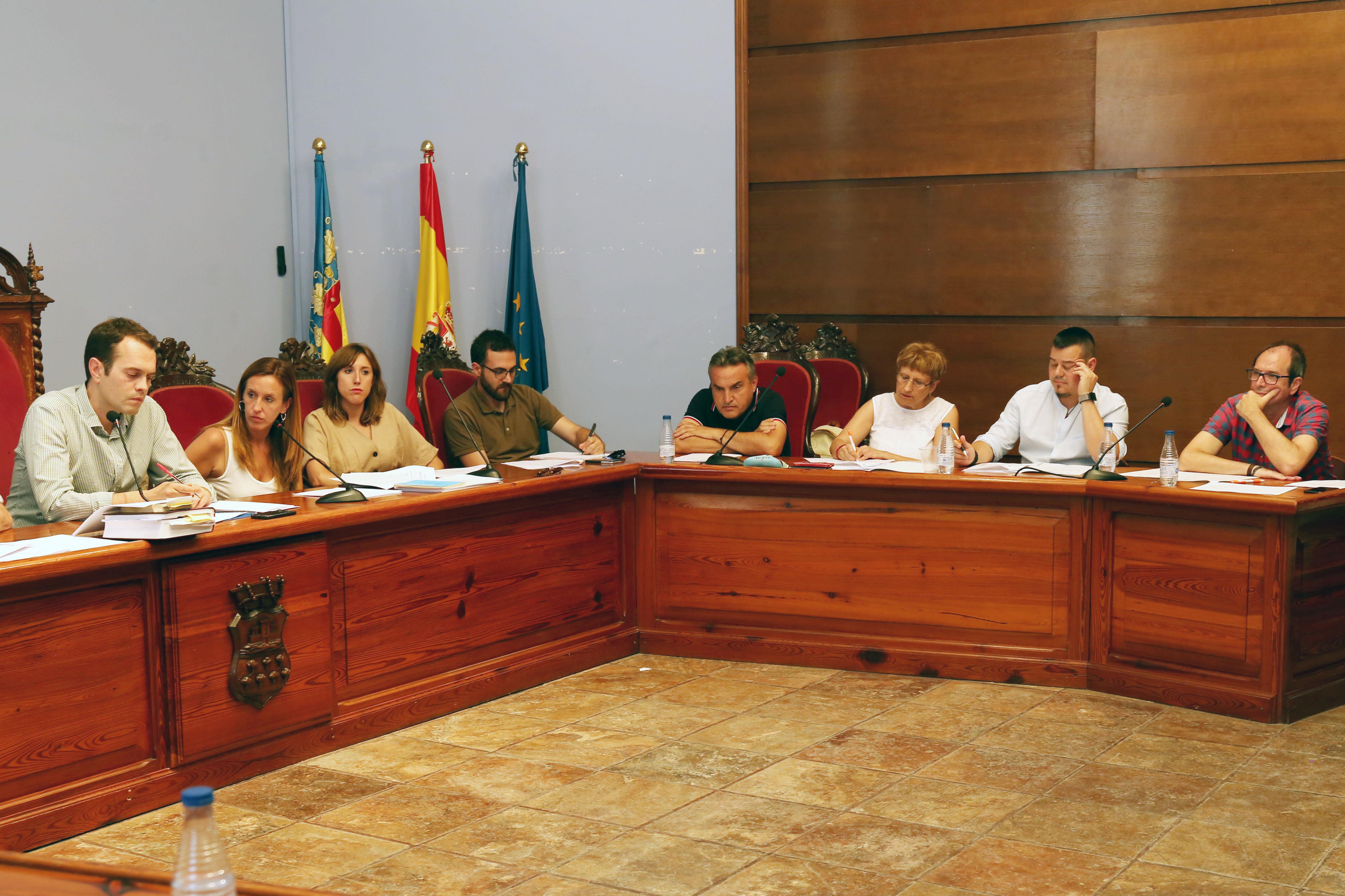 Equipo de gobierno del Ayuntamiento de Cheste.