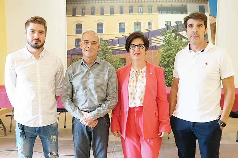 Comité organizador de la WASBE 2019 en Buñol.