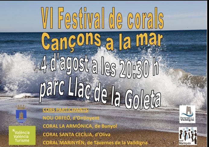 La Coral de La Armónica participará en el festival de corals de Tavernes.