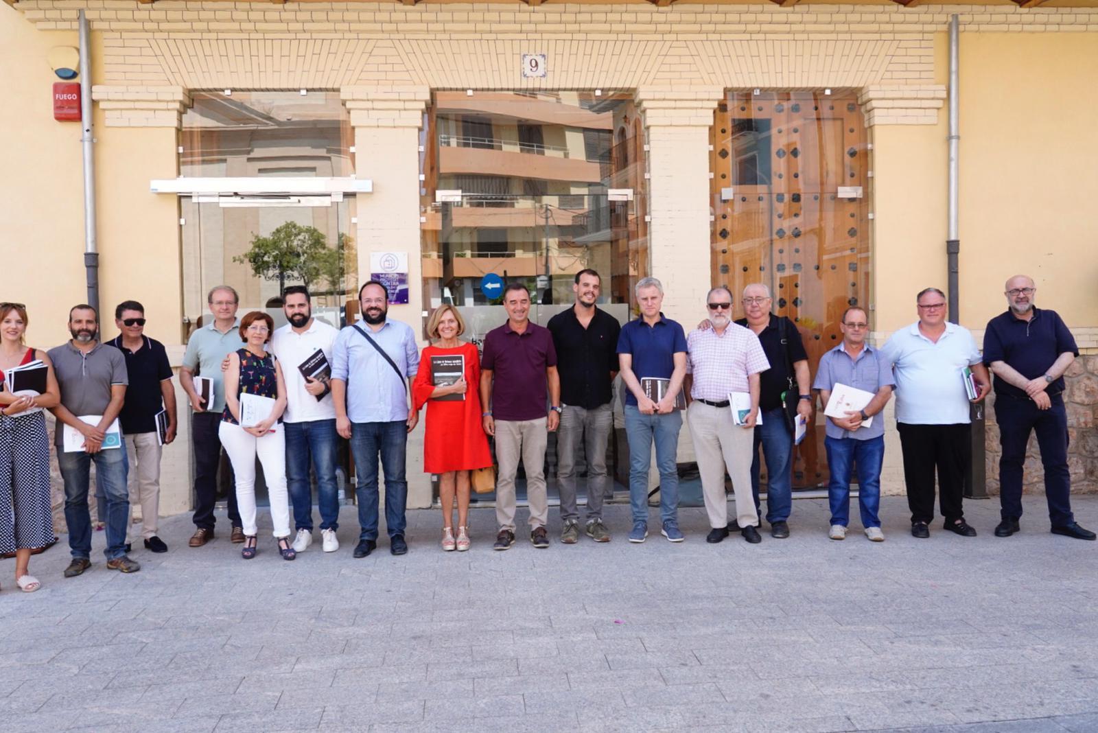 Vilamarxant asumió la pasada semana la presidencia de la Asociación de Municipios Vinculados a la Inmediata