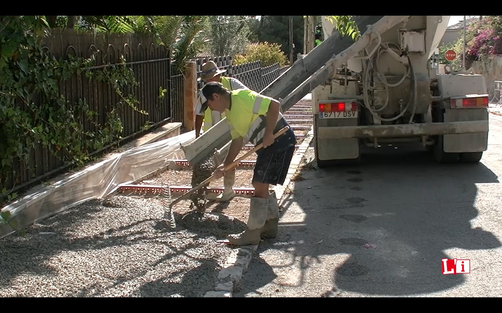 Estos días las obras se sitúan en puntos de Montepilar y Montealegre en una primera fase. La totalidad del plan estará terminado en septiembre.