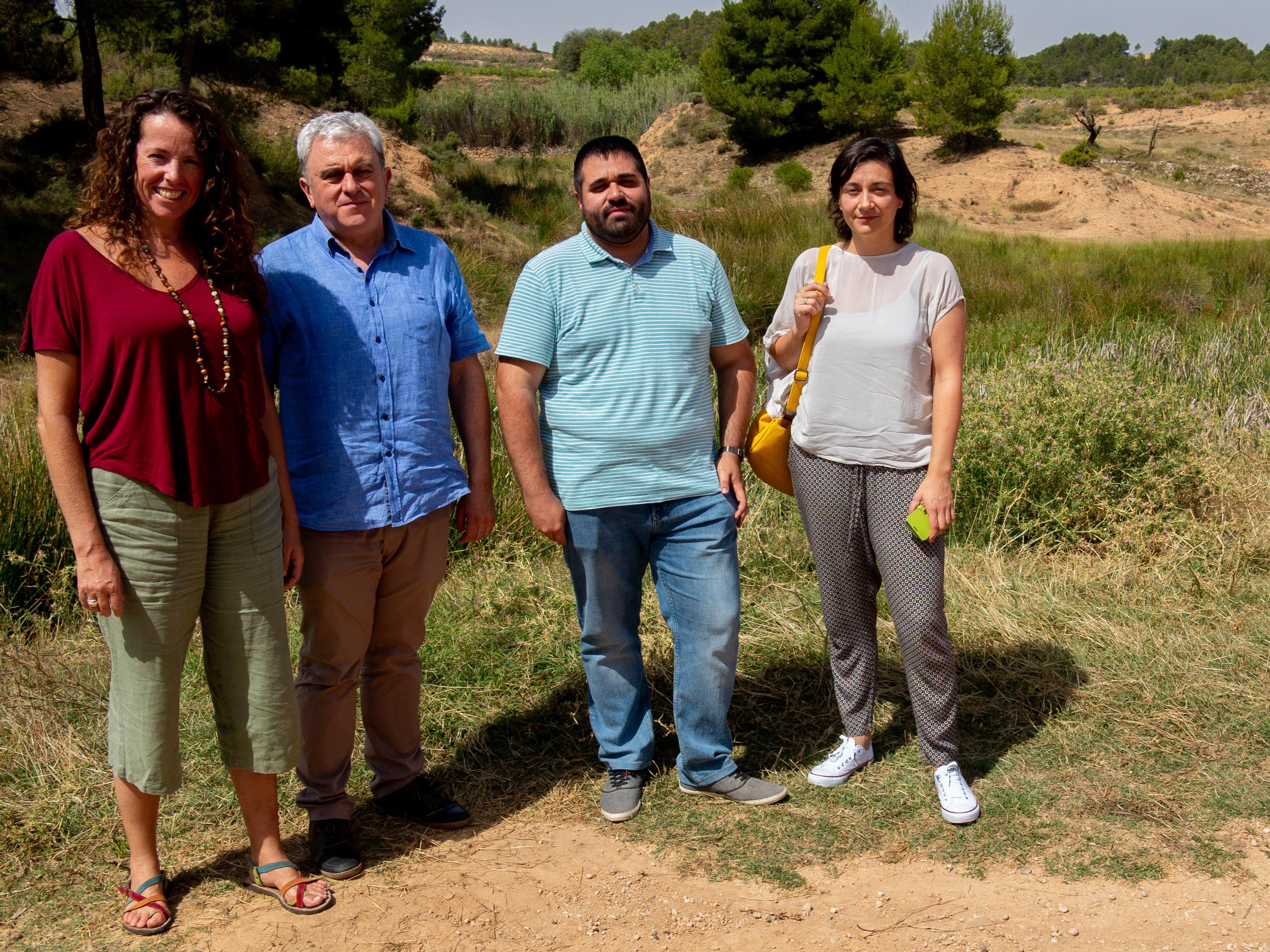 La diputada en Cortes Valenciana aporta información sobre el desarrollo de las obras.