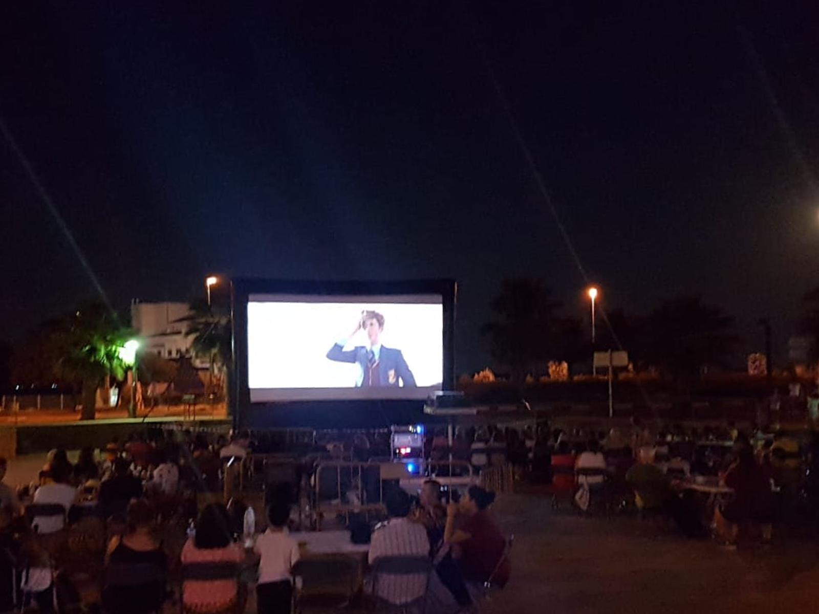 Durante esta semana las sesiones de cine a la fresca han sido las protagonistas de las noches de verano en Cheste