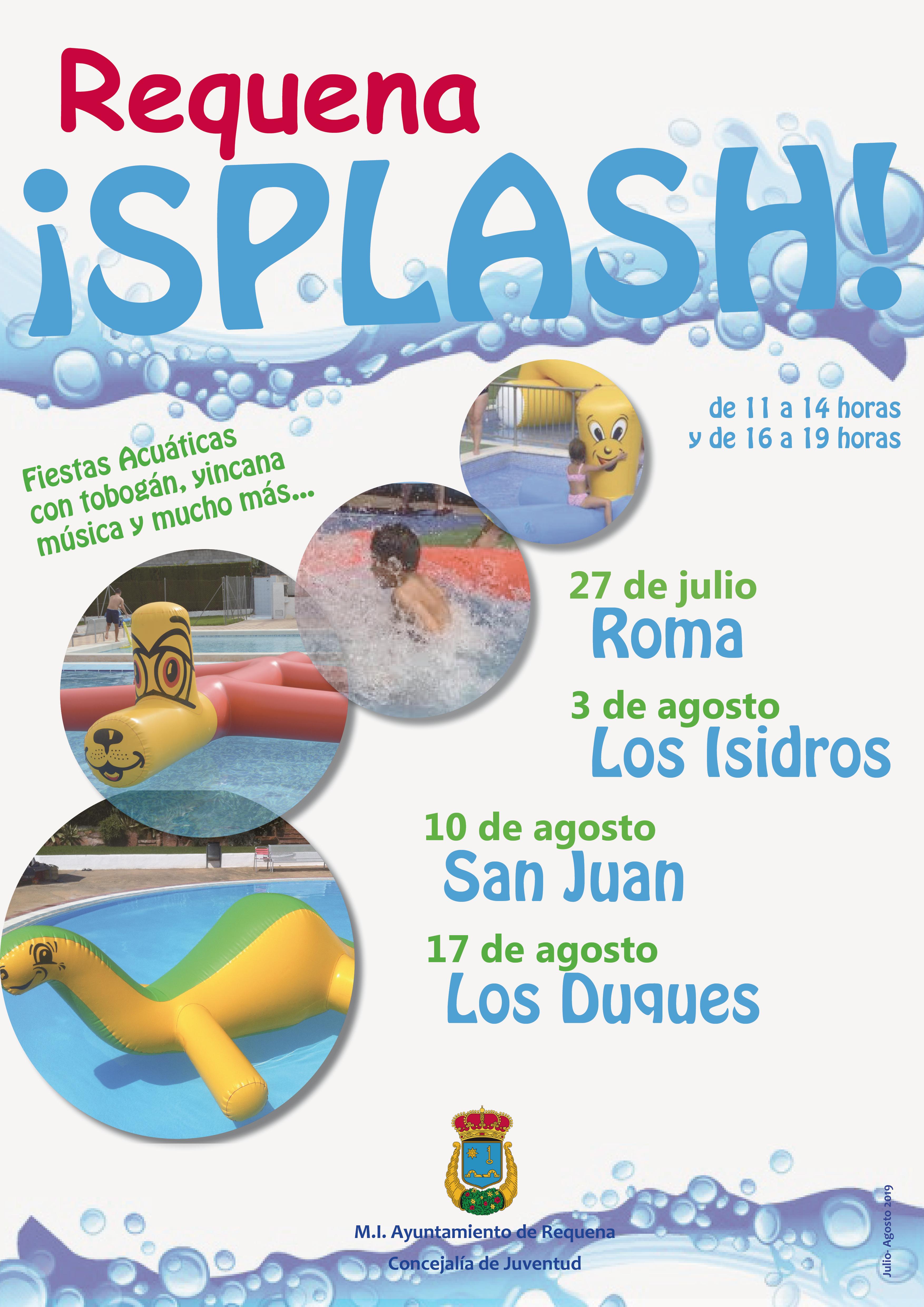 Esta refrescante iniciativa llevará fiestas acuáticas a las piscinas de distintas aldeas de Requena