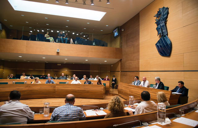 Pleno extraordinario celebrado el 4 de julio antes de la constitución de la nueva Corporación.