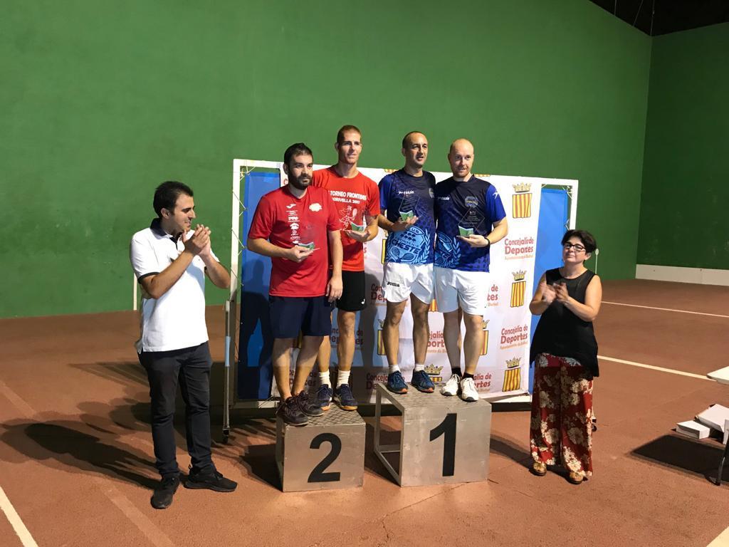 Buñol ya tiene vencedores de los tres torneos de raqueta de las fiestas.