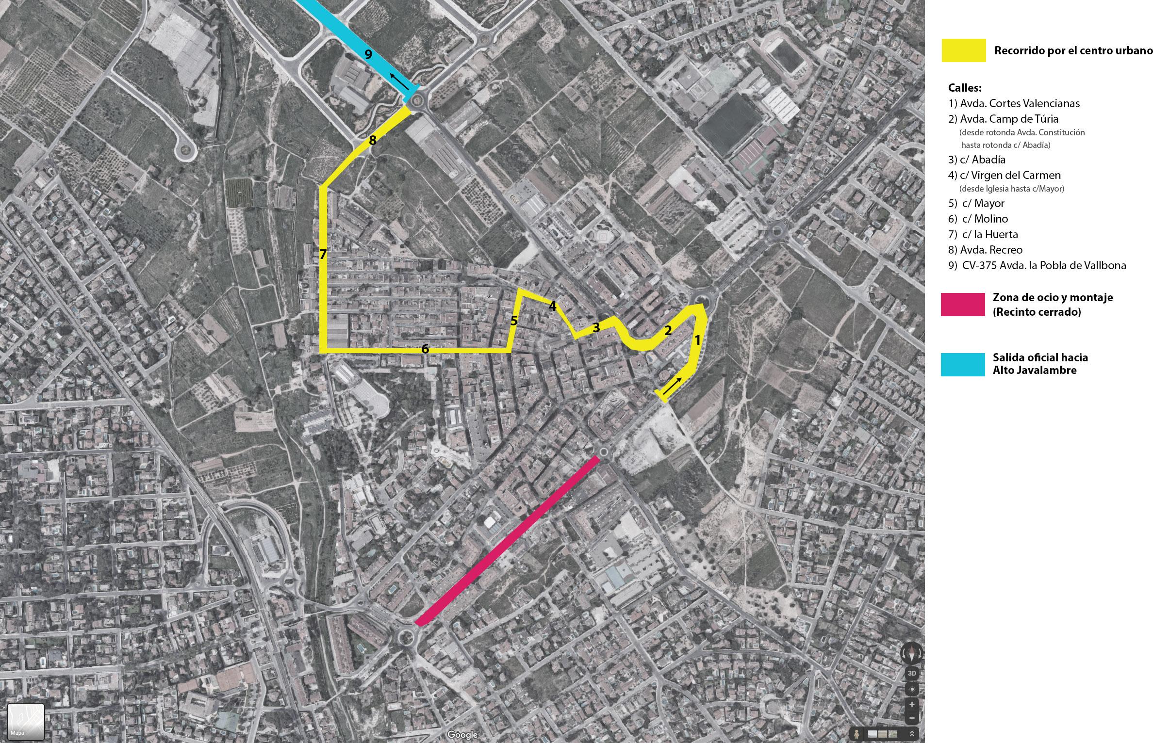 La 5ª etapa de la Vuelta Ciclista realizará su recorrido controlado por el casco urbano del municipio