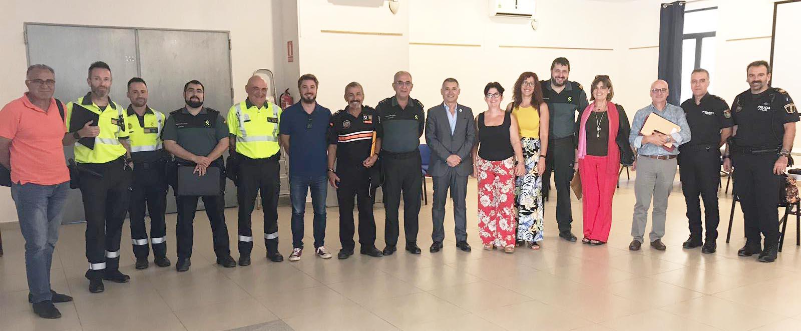 Buñol celebra la Junta de Seguridad de cara a La Tomatina 2019
