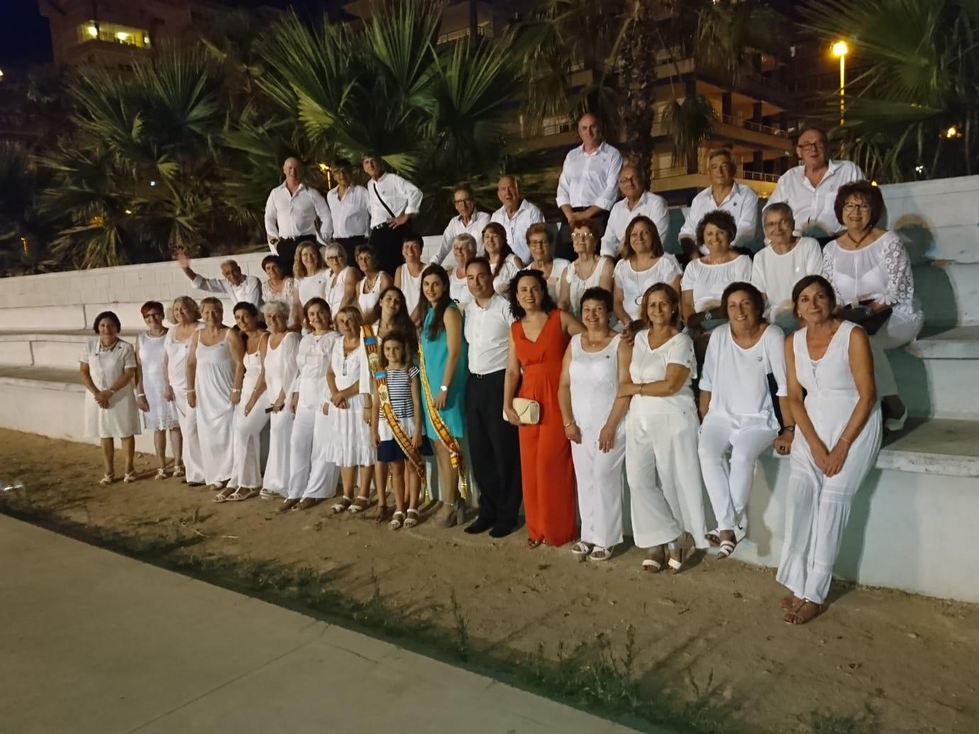 """El domingo 4 de agosto la Coral Polifónica de La Armónica participó en el VI Festival de corals """"Cançons a la mar"""" que tuvo lugar en Tavernes de la Valldigna"""