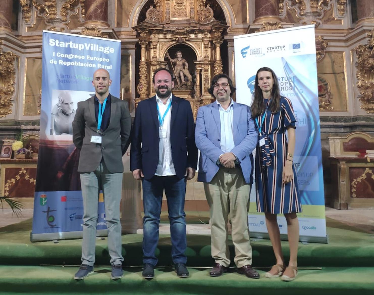 Vilamarxant ha expuesto su modelo de Centro de Emprendimiento e Innovación del Túria (CEITuria) durante la celebración del Startup Village en Villahoz (Burgos)