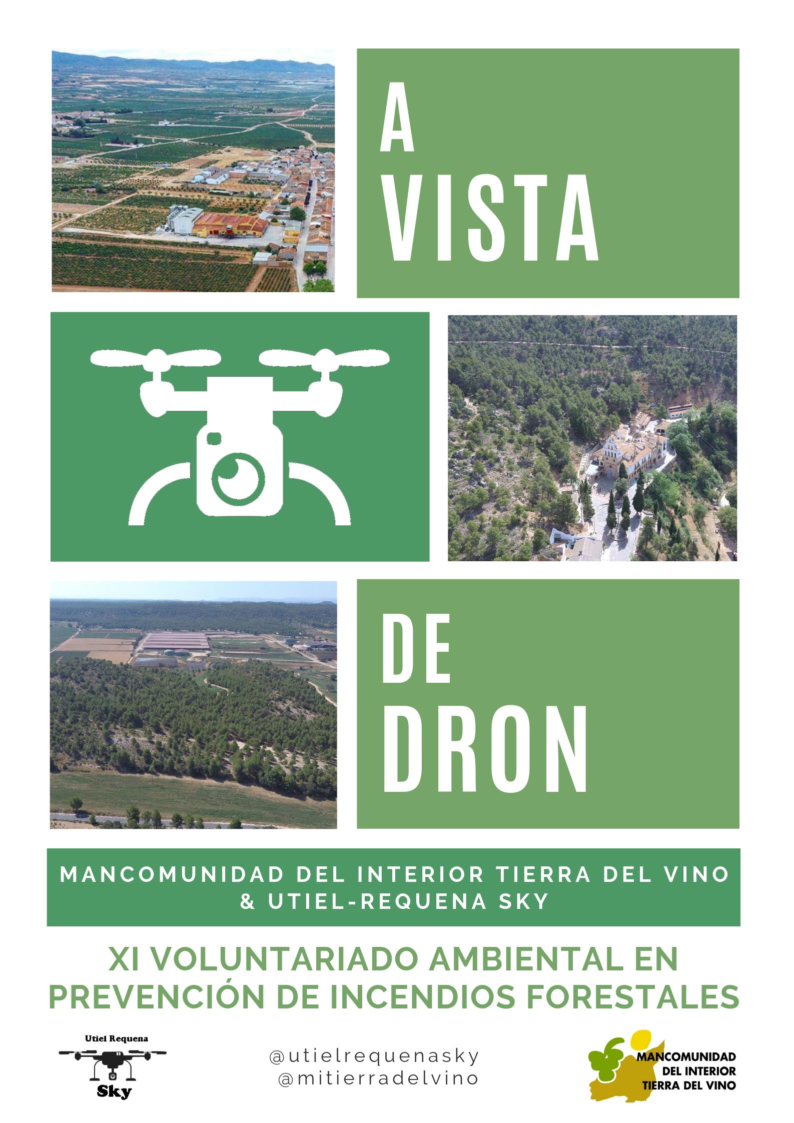 Para divulgar el patrimonio cultural de nuestra comarca desde otra perspectiva y visibilizar el trabajo del voluntariado