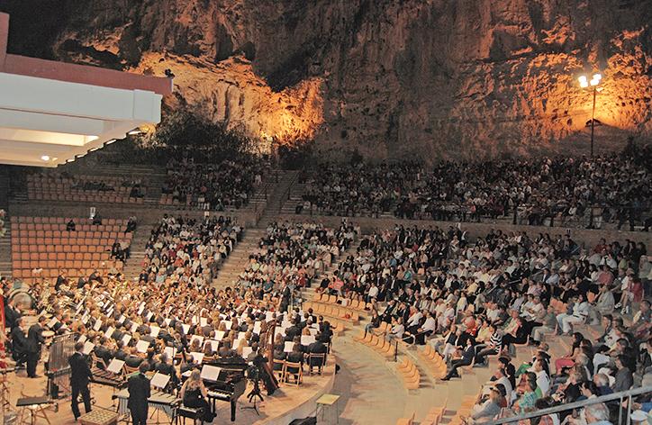 Una imagen de la pasada edición del concierto de Buñol.
