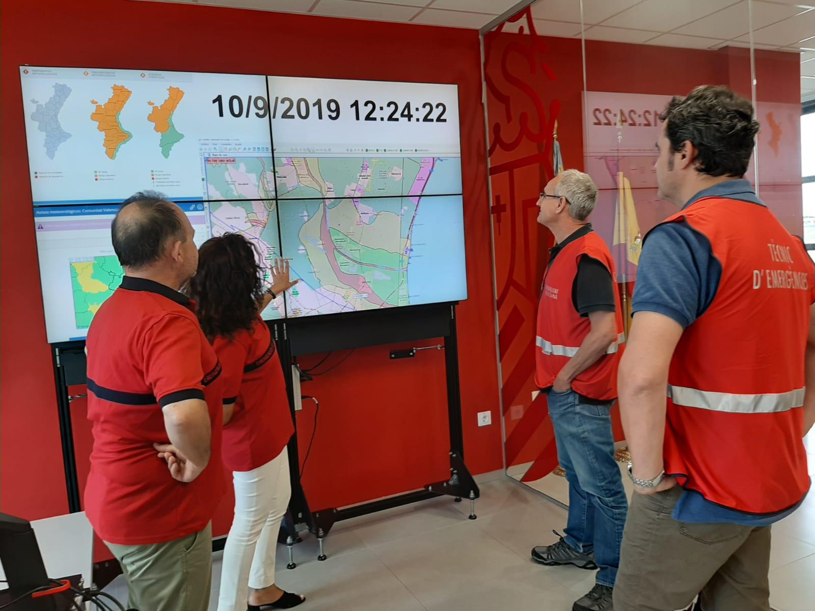 Se ha establecido la Preemergencia por lluvias nivel naranja en las tres provincias de la Comunitat Valenciana.