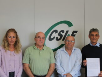 CSIF se ha reunido con la Plataforma Pro Hospital Comarcal.