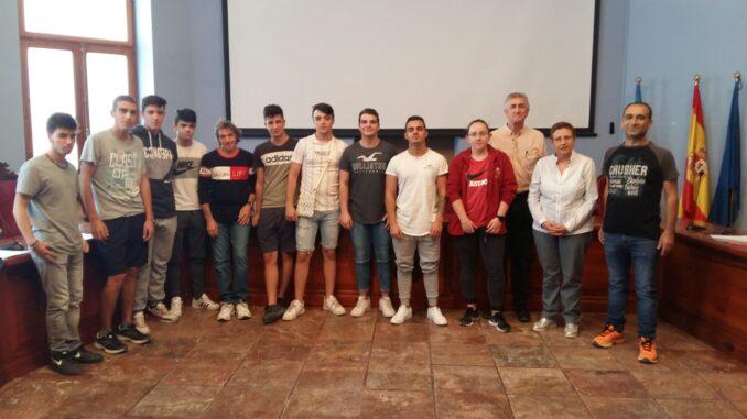 Diez estudiantes de Formación Profesional comienzan sus prácticas en las dependencias municipales.