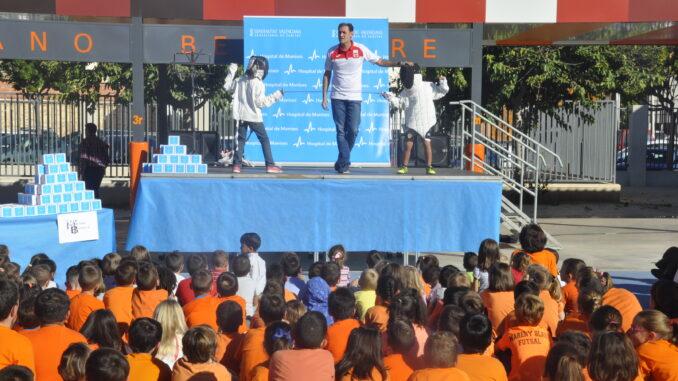El concurso fomenta hábitos saludables como la práctica de ejercicio físico y una alimentación equilibrada.